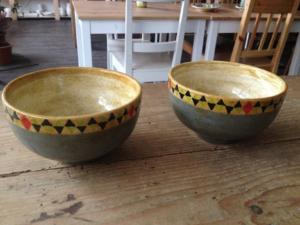Handbemalte Schalen Soho, Keramik bemalen Eigenlob