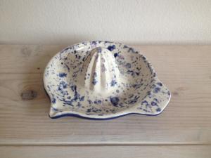 Zitronenpresse, Keramik bemalen Eigenlob