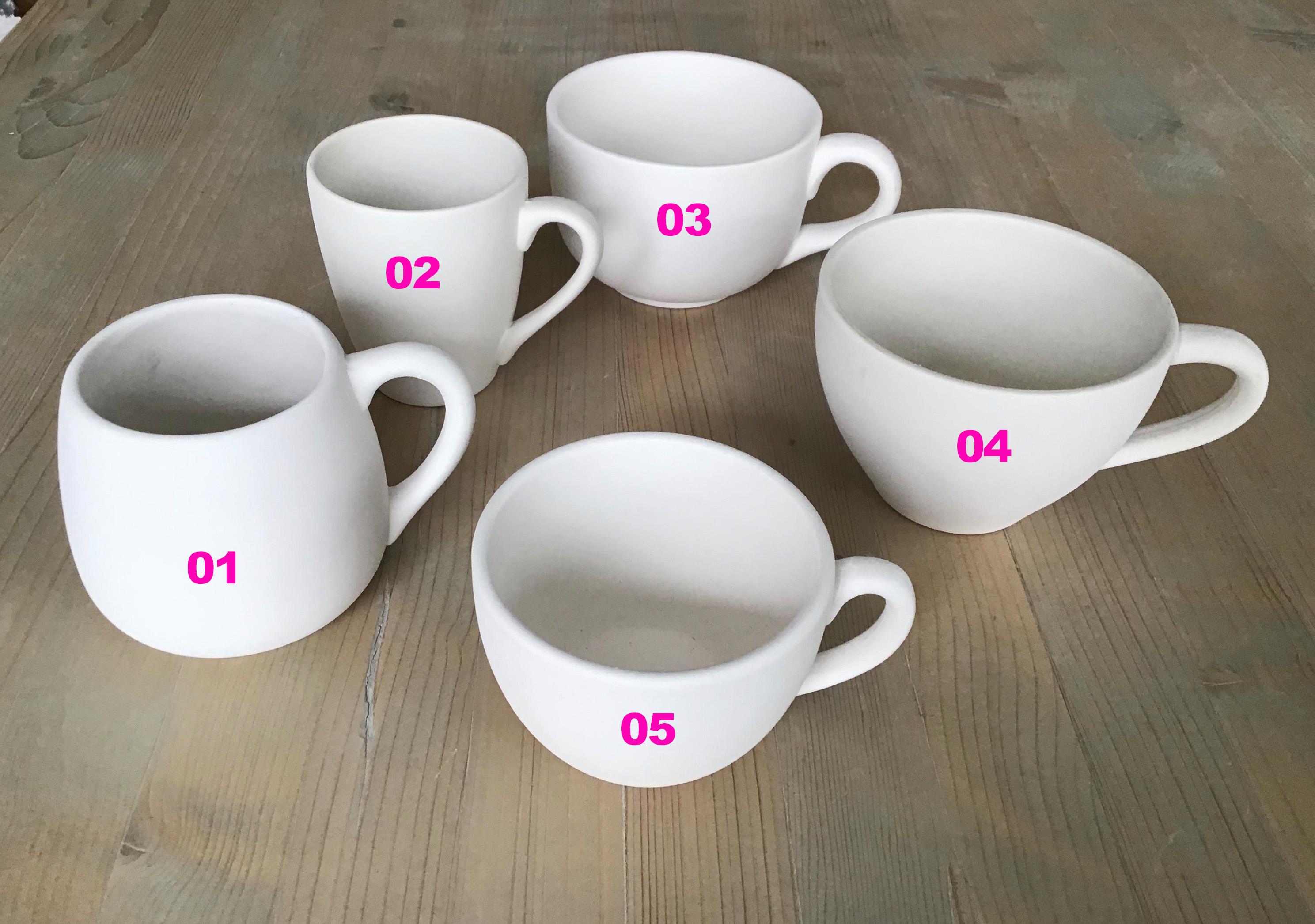 Verschiedene Tassen