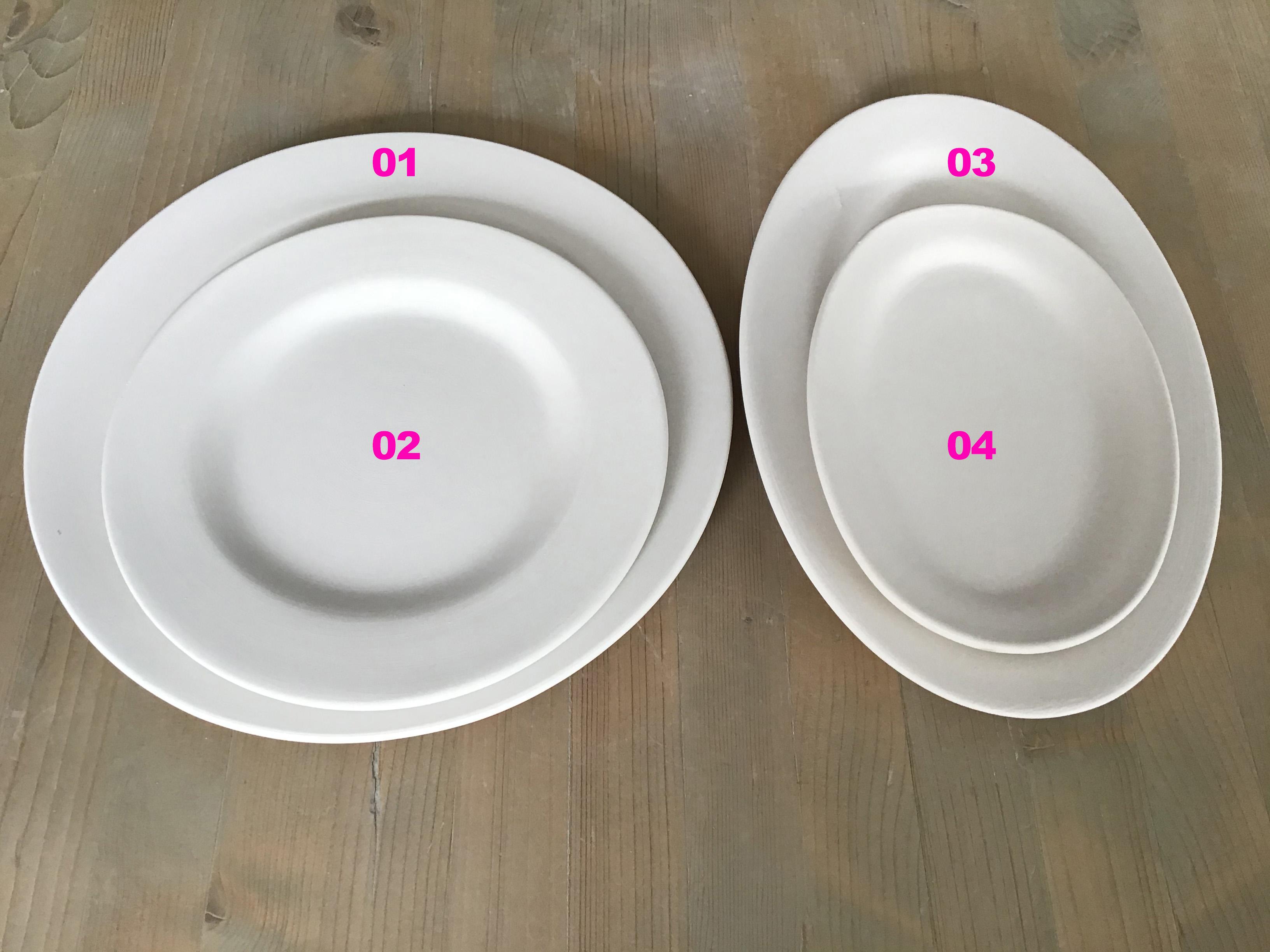 Teller & Ovale Platten