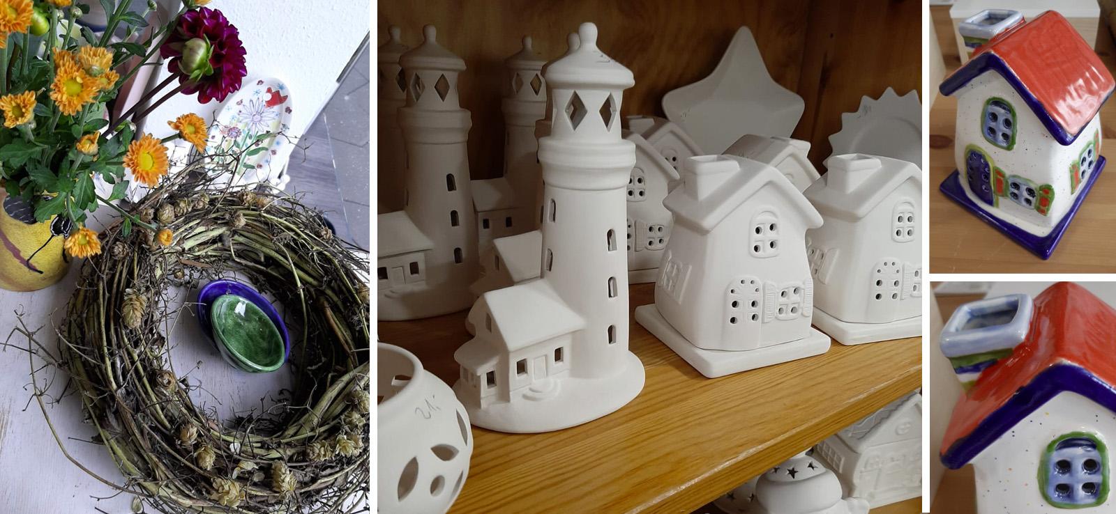 Keramik selbst bemalen Key Visual