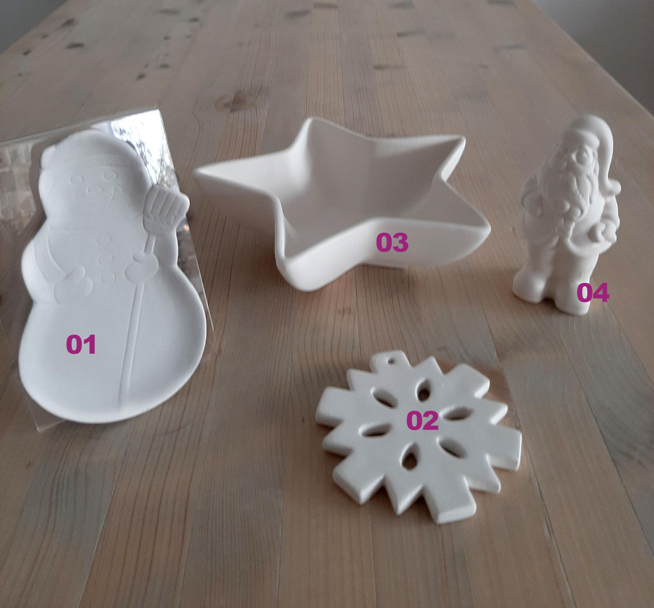 Weihnachtsdeko Eigenlob Keramik